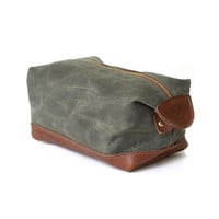 Blue Claw Co De Gaulle Dopp Kit - Olive