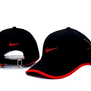 Cool NIKE GOLF NEW Adjustable Fit DRI FIT SWOOSH FRONT BASEBALL CAP HAT-1