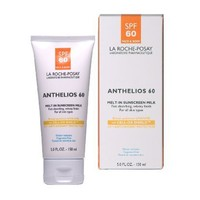 La Roche-Posay Anthelios 60 Melt-In Sunscreen Milk for Face and Body, Water Resistant with SPF 60, 5 Fl. Oz.
