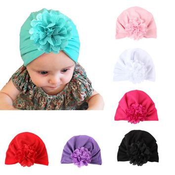 Children Hollow Flower Knot Soft Bohemian Style Hat