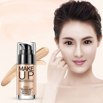 Natural Women Makeup Face BB Cream Foundation Concealer Shake Whitening Cover