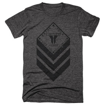 Break Your F*cking Boundaries Chevron Crest Unisex Tee {EXPLICIT}  - BYFB Clothing