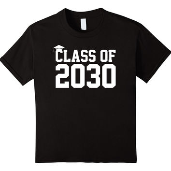 Class Of 2030 T-Shirt - Kindergarten - Adult Sizes