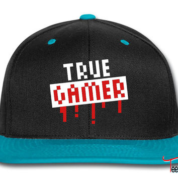 True Gamer Stamp Snapback