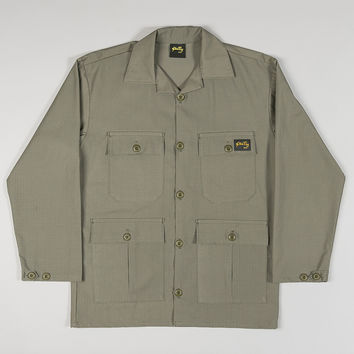 Stan Ray Four Pocket Fatigue Jacket 6.25oz OD Rip-Stop