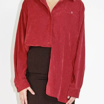 Soft Sueded Blouse / OS S M L XL
