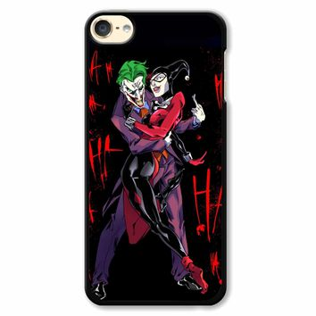 Harley Quinn And Joker iPod Touch 6 Case