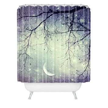 Shannon Clark Diamonds In The Sky Shower Curtain