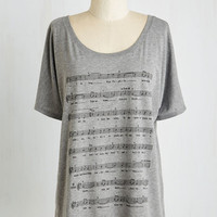 Music Mid-length Short Sleeves Tunes for the Trip Tee