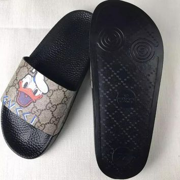 Gucci £ºCasual Fashion men and women Sandal Slipper Shoes
