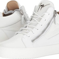 Giuseppe Zanotti Mens May London Tone-On-Tone Mid Top Sneaker