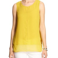 Banana Republic Womens Factory Sheer Seam Blouse