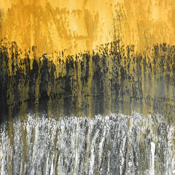 """A3 Fine Art OOAK Original Modern Abstract Acrylic Wash Painting 11.7x16.5 """" Untitled 419"""""""