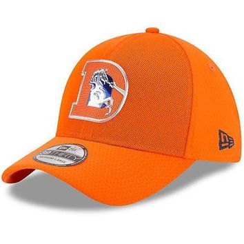 Denver Broncos New Era 39THIRTY NFL Color Rush Sideline On Field Cap Hat Stretch