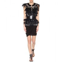 Cadzi feather gilet