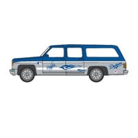 Top Dog 1:64 Chevy Suburban - MLB Los Angeles Dodgers