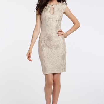 Metallic Print Dress from Camille La Vie and Group USA