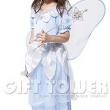 halloween costumes set for girls with fairy wings,little girl dance costumes/girls princess costume,cosplay anime for girls