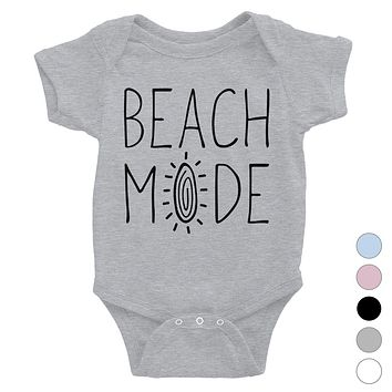 365 Printing Beach Mode Baby Bodysuit Gift For Baby Shower Cute Infant Jumpsuit