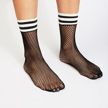 Free People Riot Sport Fishnet Sock