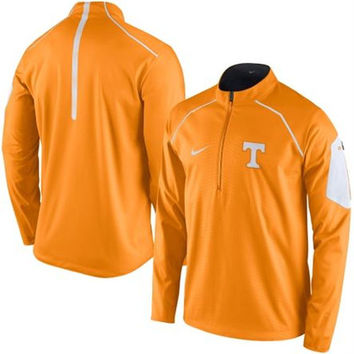 Nike Tennessee Volunteers Tennessee Orange 2015 Coaches Sideline 1/2 Zip Wind Jacket