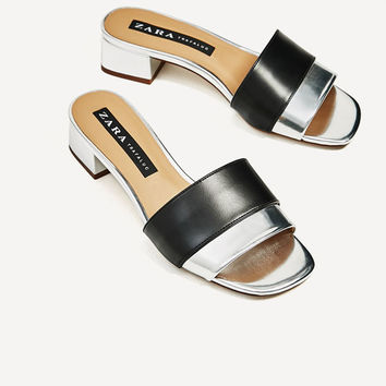 ASYMMETRIC SLIDES - NEW IN-TRF | ZARA Canada
