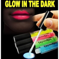Amazon.com: Glow In The Dark Lip Gloss 4-Piece Set AL#GG10911: Everything Else