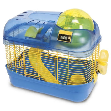 Spin City Hamster Health Club - Blue