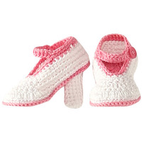 Jefferies Socks High Heel Bootie (Infant) White - Zappos.com Free Shipping BOTH Ways