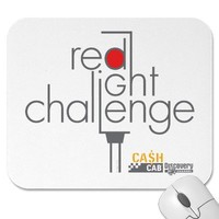 Red Light Challenge Mousepad from Zazzle.com