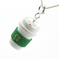 Irish coffee necklace