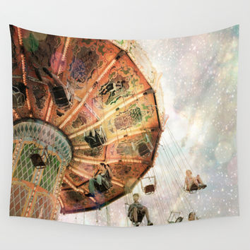 A Carnival In the Sky III Wall Tapestry by Jenndalyn