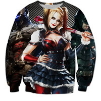 Harley Quinn Sweater