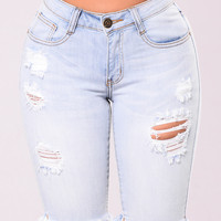 Colleen Bermuda Shorts - Light