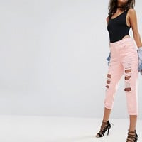 ASOS Scoop Back Body With Super 80s High Leg at asos.com