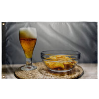 "Beer v2 - Wall Flag 36""x60"""