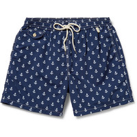 Polo Ralph Lauren - Mid-Length Printed Swim Shorts | MR PORTER