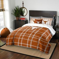 University of Texas Embroidered Comforter Set