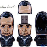 ABRAHAM LINCOLN MIMOBOT 8GB FLASH DRIVE