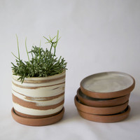 Desert Planter with Saucer