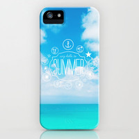say hello to summer.  iPhone & iPod Case by Sara Eshak