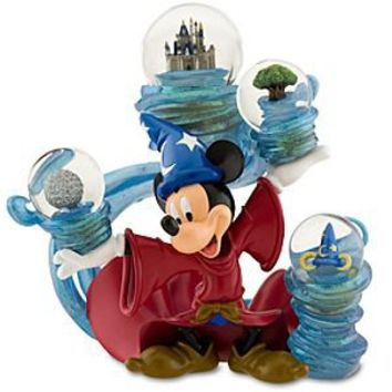 ''Four Parks, One World'' Sorcerer Mickey Mouse Snowglobe | Disney Store