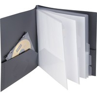 Staples Textured 10 Pocket Presentation Book (20642-CC/13682) | Staples