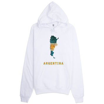 The Argentina Flag Hoodie
