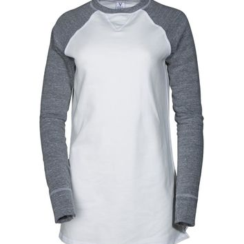 Fairfax- Women's Fleece V-Notch Sweatshirt