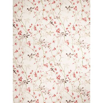 Vervain Fabric 5021103 Flora and Fauna Cherry Blossom