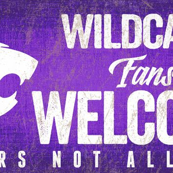 Kansas State Wildcats Wood Sign