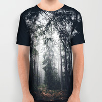Dark paths All Over Print Shirt by HappyMelvin