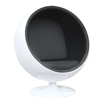 Ball Chair, Black