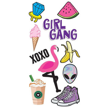 Girl Gang Restickable Decal Pack